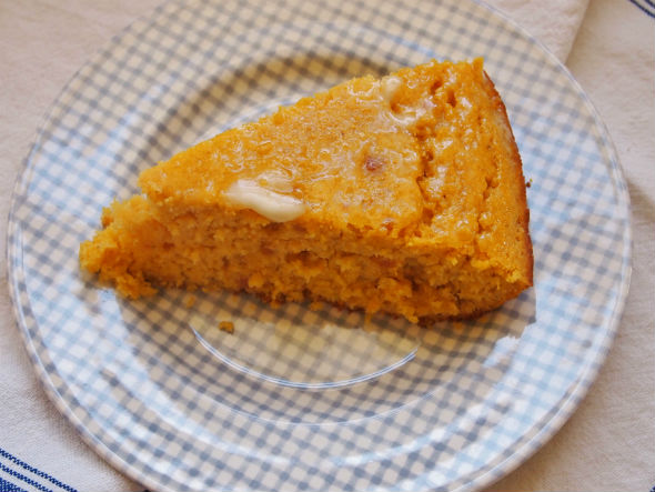 Skillet Sweet Potato Cornbread
